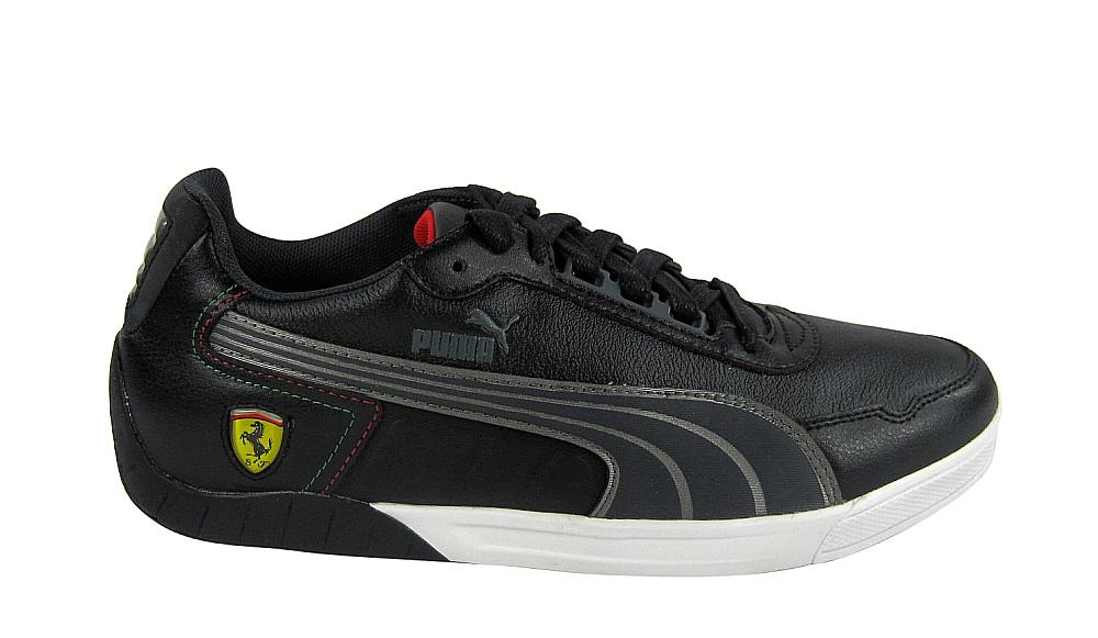 PUMA 3.0 lo SF Ferrari Black/Dark Shadow/Silver Sneaker/Scarpe 304045 02